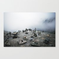 norway Canvas Prints featuring norway by vrsh