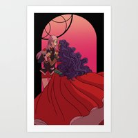 The Prince and the Bride Art Print