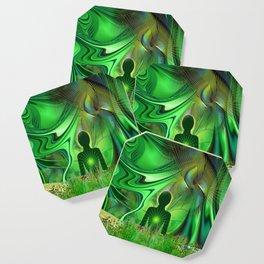 Heart Chakra Energy. Coaster