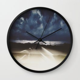 Midnight Highway Wall Clock