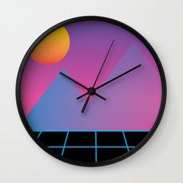 That Gradient Nostalgia Wall Clock