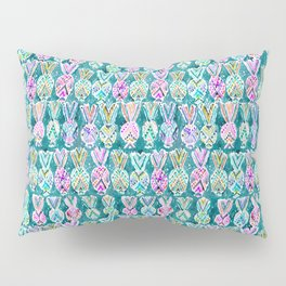 Tribal Pineapples Pillow Sham