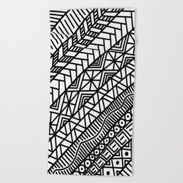 Quick Doodle Beach Towel
