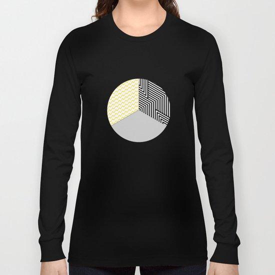 Geometric Circle #2 Long Sleeve T-shirt