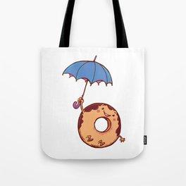 donut in air Tote Bag