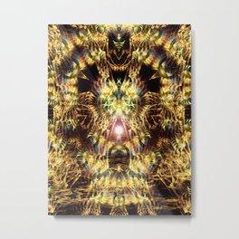 DMT Shaman Visions Metal Print