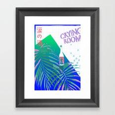 crying room Framed Art Print