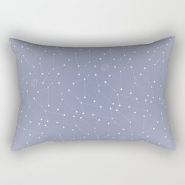 Cancer Constellation Pattern Rectangular Pillow