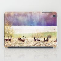 canada iPad Cases featuring Canada Geese by Christine Belanger