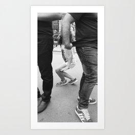 Let's dance. Art Print