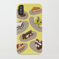 desserts Slim Case iPhone X