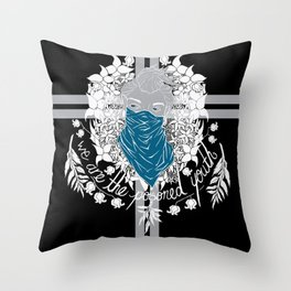 The Poisoned Youth Throw Pillow