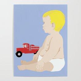 BOY BABY BLUE Poster