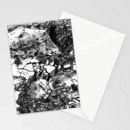 Desert_rocks Stationery Cards
