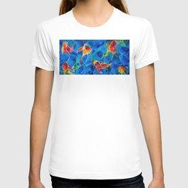 Koi Pond 2 - Liquid Fish Love Art T-shirt