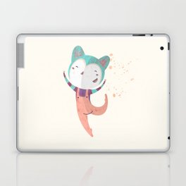 Dance Dreams (Cream) Laptop & iPad Skin