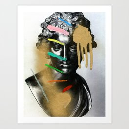 Composition 527 Art Print