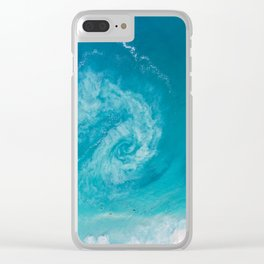 Rip Current Clear iPhone Case