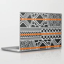 Tribal ethnic geometric pattern 022 Laptop & iPad Skin