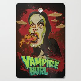 Vampire Hurl Cutting Board