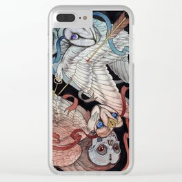 Memory & Regret Clear iPhone Case