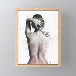 Bathing Rhythm Framed Mini Art Print