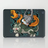 invader zim iPad Cases featuring Invader Midna by HelloTwinsies