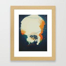 Orange Tree Framed Art Print