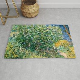 Lilacs by Vincent van Gogh Rug