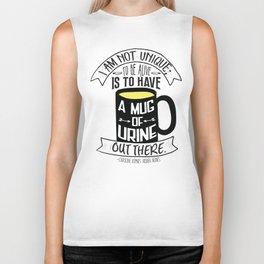 Mug of Urine Biker Tank