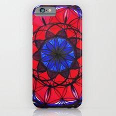 Ruby Sapphire Mandala Slim Case iPhone 6s