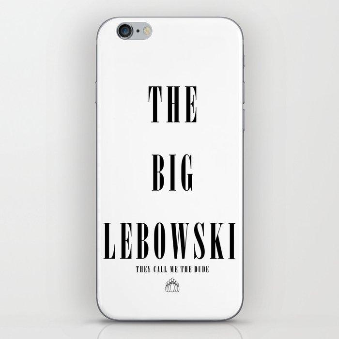 The Big Lebowski iPhone Skin