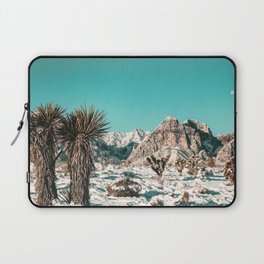 Vintage Lovers Cacti // Red Rock Canyon Mojave Nature Plants and Snow Desert in the Winter Laptop Sleeve