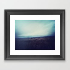 Into the Haze. Framed Art Print