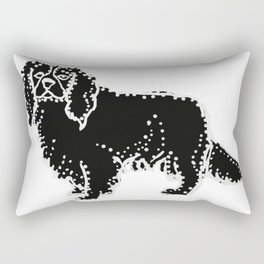 I have Connected the CAVALIER KING CHARLES SPANIEL Doggy Dots! Rectangular Pillow