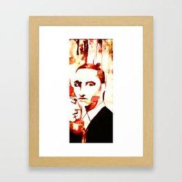 Drip Framed Art Print