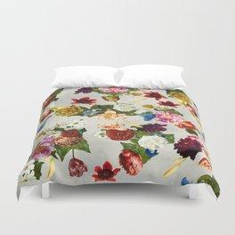 Flowery (white version) Duvet Cover