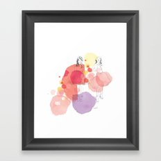 Amelia's Party Framed Art Print