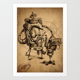#20 Art Print
