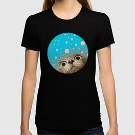 """""""Fun Kitty and Polka dots"""" T-shirt"""