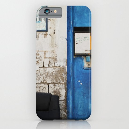 Blue door iPhone & iPod Case