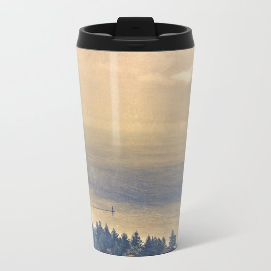 Classic Columbia Metal Travel Mug