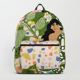Bathing with Plants Backpack