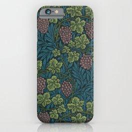 William Morris Grape Vine Pattern iPhone Case