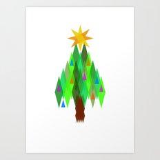 Oh, Christmas Tree. Art Print