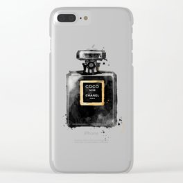Perfume bottle fashion Clear iPhone Case