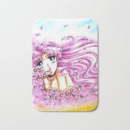 Princess Serenity Pink Hair Bath Mat