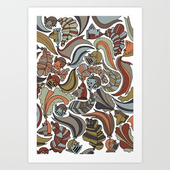 knights Art Print