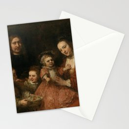 Portrait of a Family Stationery Cards
