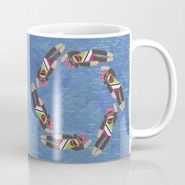 Sock Monkey Water Ballet Coffee Mug